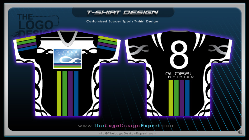 customized soccer sports tshirt garment design cool garment design - Soccer T Shirt Design Ideas