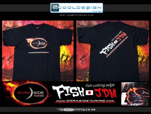 full colour t-shirt printing