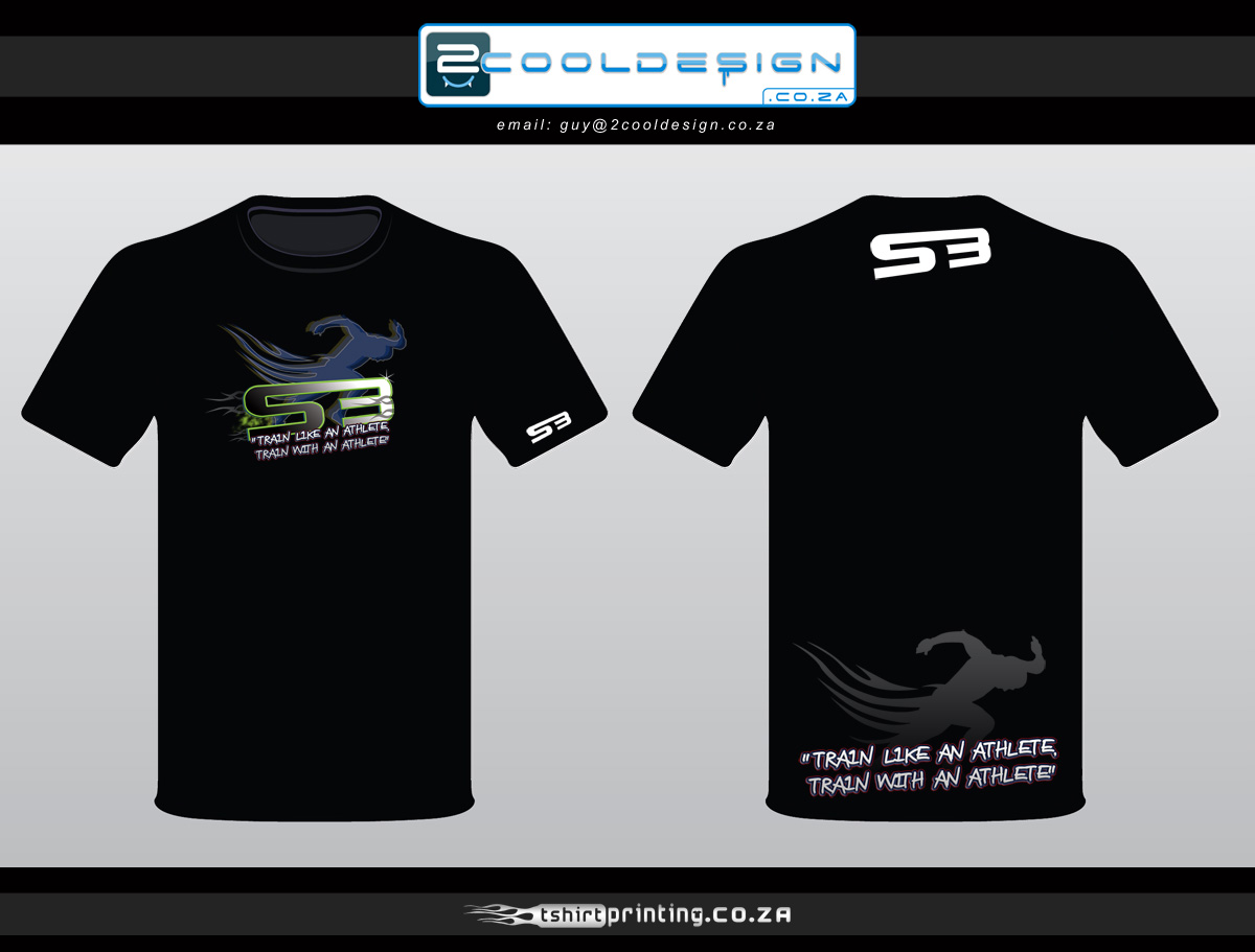Sprinter t shirt brand design by guy tasker tshirtprinting for T shirt printers online