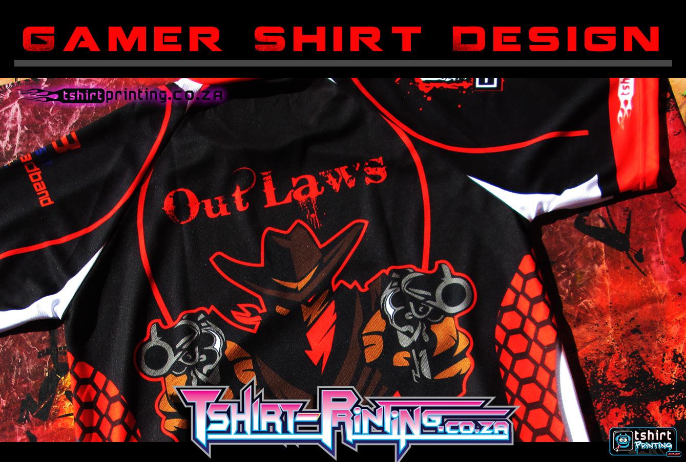 gamer-shirt-design-prnted-shirt-outlaws