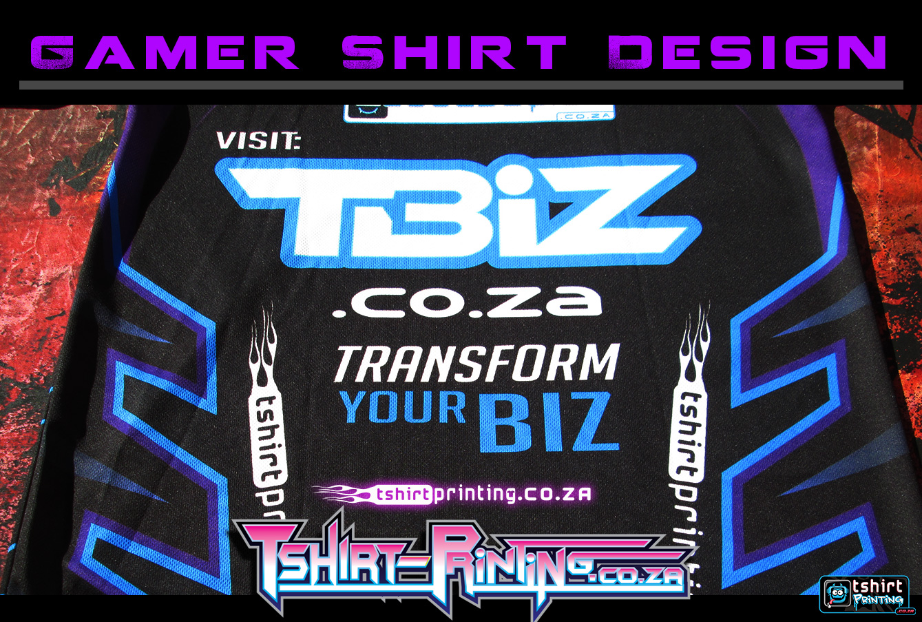 tbiz.co.za gamer shirt