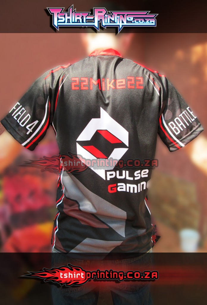 GAMER SHIRT PRINT, PULSE GAMING SHIRT, BATTLEFIELD SHIRT, ONLINE GAMING