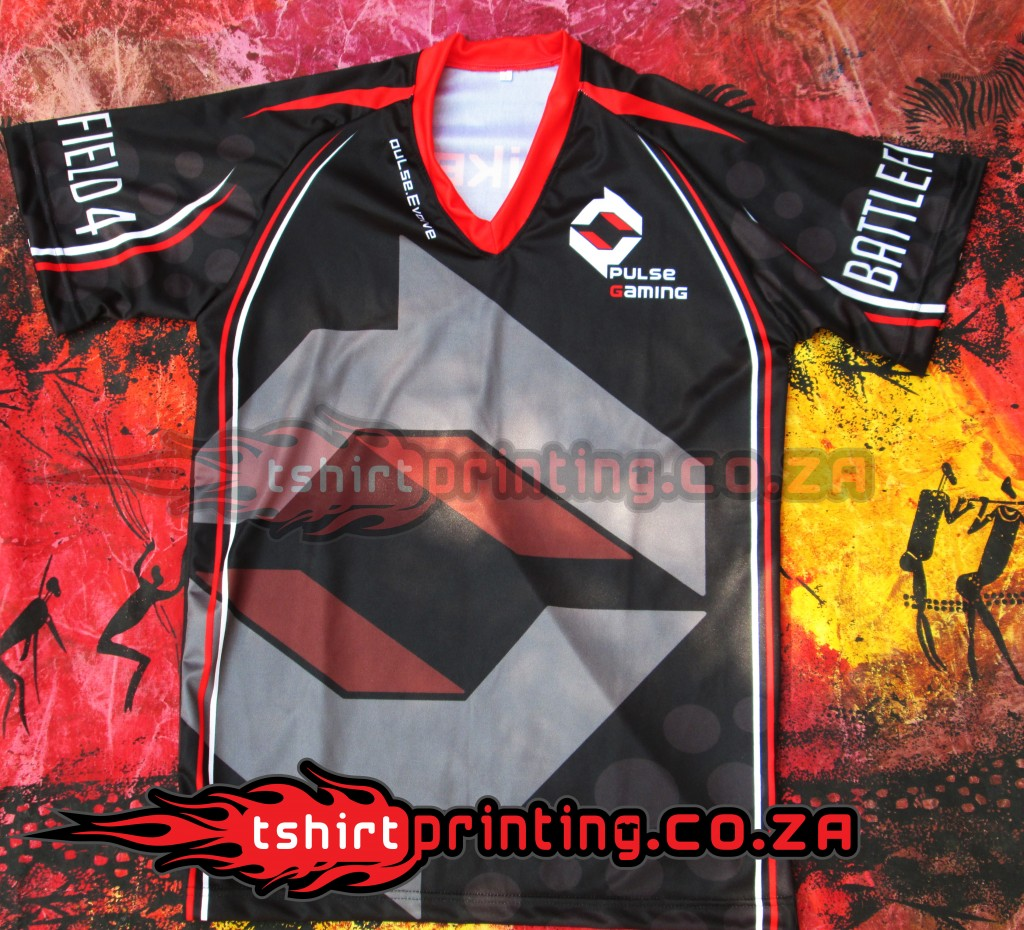 SUBLIMATED-SHIRT-PRINTER, GAMER, ONLINE GAMING APPAREL