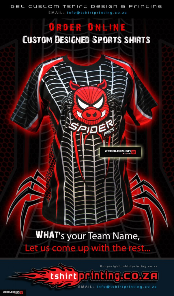 spider-pigs-action-cricket-shirts-by-2cooldesign and tshirtprintingcoza