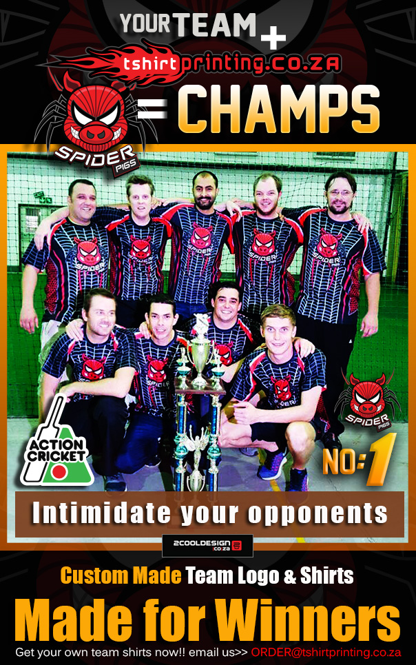 spiderpigs action cricket team winners 2016