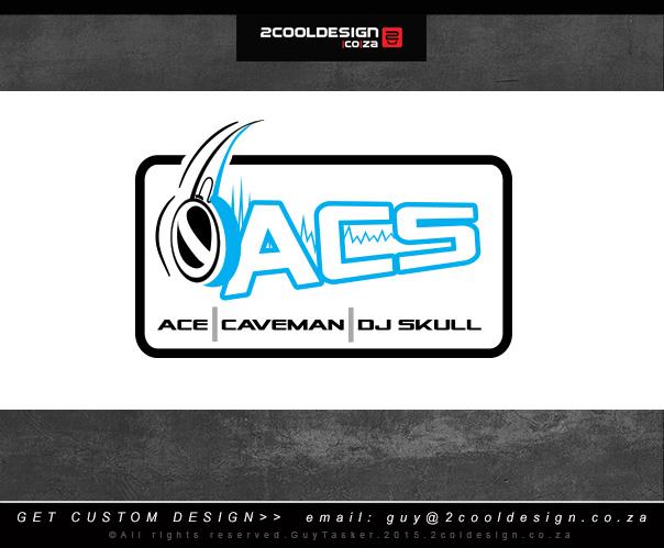 ACS-Dj -logo design