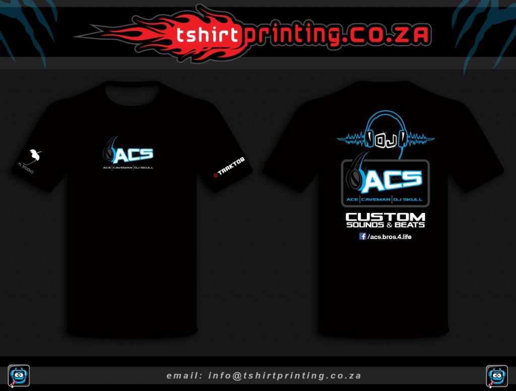Cool DJ shirt print idea