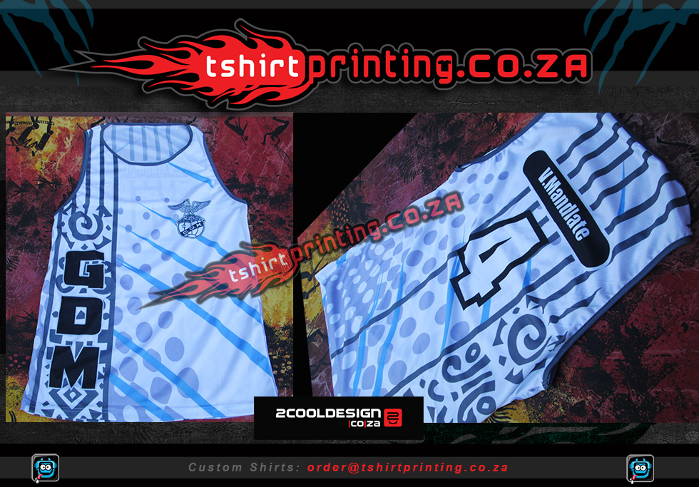 custom basketball vest, all over print