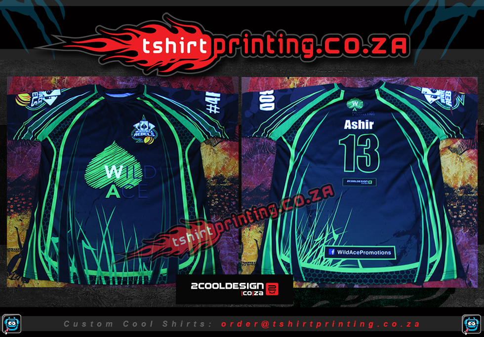 wildace cool cricket shirts